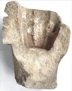 Fragment románskej hlavice 2