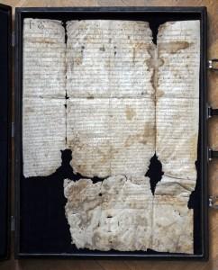 2 Zoborská listina z roku 1113 (foto Peter Michalík)