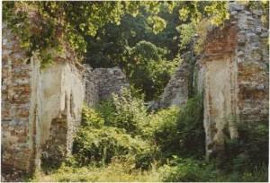 4 Ruina kostola sv. Jozefa. Stav v roku 2002