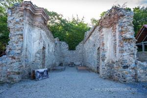 6 Ruina kostola sv. Jozefa. Stav v roku 2019
