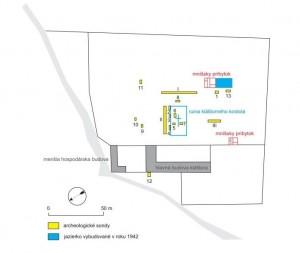 obr_6_plan_rozmiestnenia_archeologickych_sond_